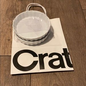 Crate & Barrel Creme Brûlée Dishes